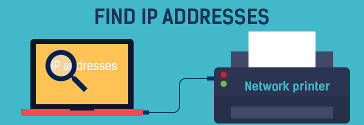 IP address of a network printer